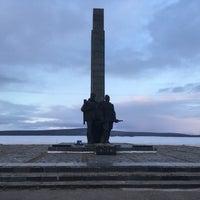 Photo taken at Памятник защитникам Заполярья by Youginne B. on 5/23/2017
