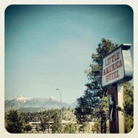 Photo taken at The Little America Hotel - Flagstaff by mike l. on 4/6/2013