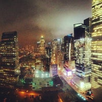 Photo taken at Rooftop @ Element NY Times Square by mike l. on 1/17/2013