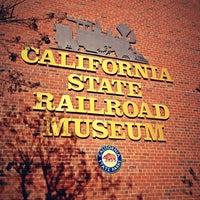 Photo taken at California State Railroad Museum by Rafael O. on 2/12/2013