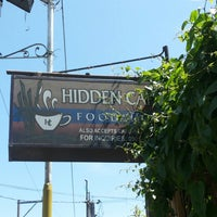 Photo taken at Hidden Cafe by JOEY D. on 2/24/2014