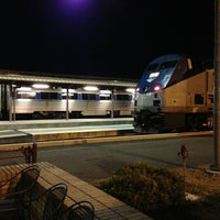 Photo taken at Richmond - Staples Mill Road Amtrak Station (RVR) by Leslie 🔆 H. on 3/9/2013