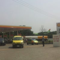 Photo taken at Shell by Cecil D. on 1/16/2014