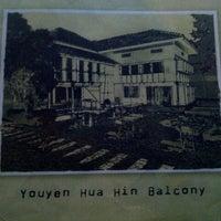 Photo taken at You Yen Hua Hin Balcony by De La R. on 10/19/2012