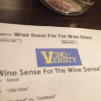 Photo taken at Vino Versity by Colby M. on 5/1/2014