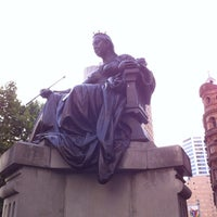 Photo taken at Queen Victoria's Statue by Lauro on 12/21/2012
