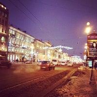 Снимок сделан в Невский проспект пользователем Даша К. 12/26/2012