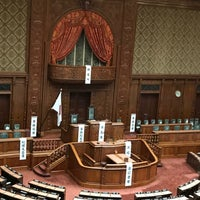 Photo taken at House of Councillors by Yoshio O. on 7/22/2017