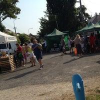 Photo taken at Soroksári termelői piac by Gábor S. on 7/27/2013