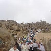 Photo taken at Arafah Mountain by Cüneyt Ş. on 1/26/2013