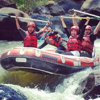 Photo taken at Arus liar, citarik Rafting sukabumi West Java by gilang P. on 9/29/2013
