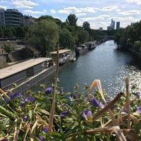 Photo taken at Pont de Levallois by Alexey N. on 5/21/2017