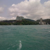Photo taken at Cruise @ Sun Moon Lake by Mathias G. on 4/22/2013