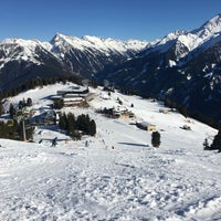 Photo taken at Mayrhofen by Татьяна И. on 2/15/2017