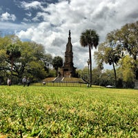 Photo taken at Forsyth Park by Quality B. on 3/31/2013