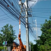 Photo taken at นิคมอุตสาหกรรมภาคเหนือ จ.ลำพูน by กอล์ฟ v. on 9/23/2012