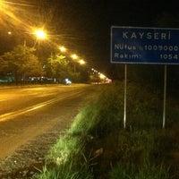 Photo taken at Kayseri by Duray S. on 5/25/2013
