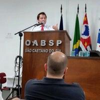 Photo taken at OABSP - Casa do Advogado by Nathália D. on 6/11/2015