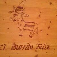 Photo taken at El Burrito Feliz by Aladin J. on 2/21/2013