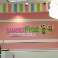 Photo taken at Sweet Frog Premium Frozen Yogurt by John A. on 11/15/2014