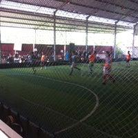 Photo taken at Udayana Futsal Centre (UFC) by fedy f. on 4/29/2013