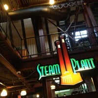 Photo taken at Steam Plant Grill by Andy E. on 3/10/2013