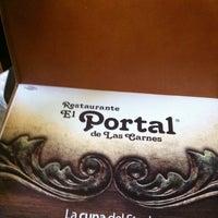 Photo taken at El Portal de las Carnes by Manuel A. on 1/29/2013