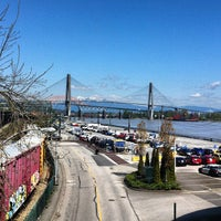 Photo taken at New Westminster Quay by Jason B. on 4/23/2013