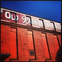 Photo taken at Old Rainier Brewery by Jason B. on 3/30/2013