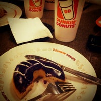 Photo taken at Dunkin Donuts by Anna D. on 4/7/2013