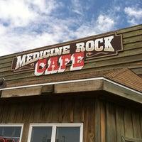Photo taken at Medicine Rock Cafe by Bez E. on 8/9/2013