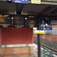 Photo taken at Salford Crescent Railway Station (SLD) by Vinh D. on 11/25/2012
