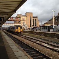 Photo taken at Harrogate Railway Station (HGT) by Vinh D. on 11/25/2012