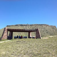 Photo taken at Madison Buffalo Jump State Park by Rock R. on 6/28/2013
