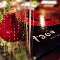 Photo taken at Tao Authentic Asian Cuisine 道 by Rielz C. on 2/19/2013
