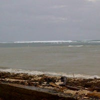 Photo taken at Tanjung Setia Surf Beach by Dannda L. on 12/24/2012