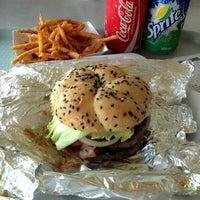 Photo taken at Army Navy Burger + Burrito by Krisheela Reena M. on 3/11/2013