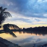Photo taken at Pasir Salak Riverine Resort by Fahmi A. on 11/18/2016