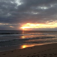 Photo taken at Spanish River Beach by Oge M. on 1/18/2013