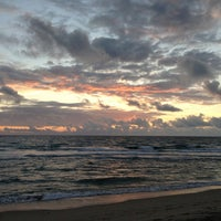 Photo taken at Spanish River Beach by Oge M. on 1/6/2013