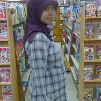 Photo taken at Gramedia by Mohammad K. on 1/14/2014
