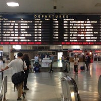 Photo taken at New York Penn Station (NYP) by Jason M. on 7/18/2013