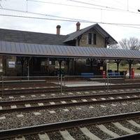 Photo taken at SEPTA Villanova Station by Jason M. on 1/20/2014