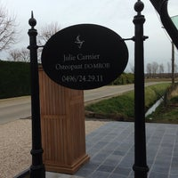 Photo taken at Osteopaat Julie Carnier by Paul D. on 2/10/2014