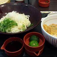Photo taken at なか卯 船場中央大通店 by Hanako on 9/7/2013