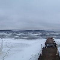 Photo taken at Угличское водохранилище by Lolita R. on 2/15/2014