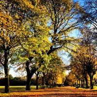 Photo taken at Platt Fields Park by Philip H. on 10/21/2012