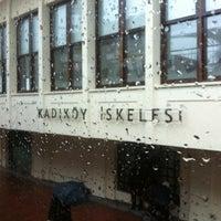 Photo taken at Eminönü - Kabataş - Karaköy Vapur İskelesi by M T. on 1/19/2013