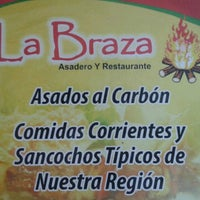 Photo taken at La Braza by Bencho on 2/10/2013