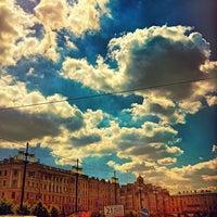 Photo taken at Sennaya Square by Андрей Л. on 7/3/2013